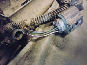 разъёмы чистые, провода целые