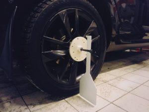 мишень на колесо