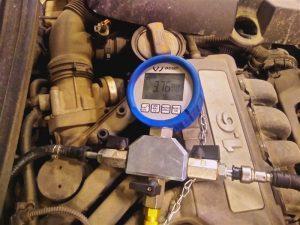 давление в топливной рампе